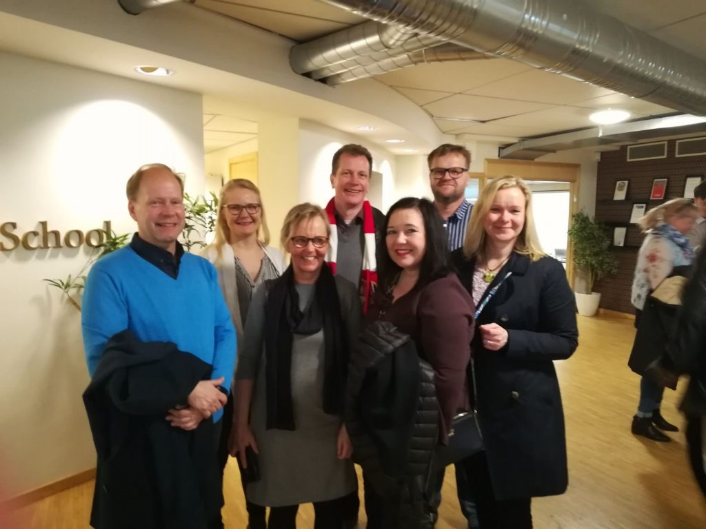 Yrittäjyyskasvattajat Tukholmassa verkostoitumassa