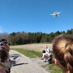 Droneopissa Aurajoen rannoilla