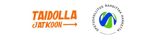 Taidolla jatkoon -logo ja opetushallitus rahoittaa hanketta -logo.